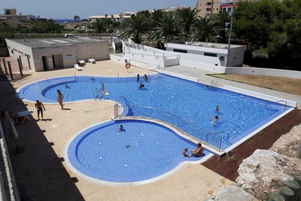 Gemeinschaftspools sind in vielen Wohnanlagen auf Mallorca üblich.