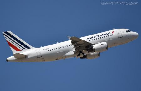 Ein Airbus A319 der Air France.