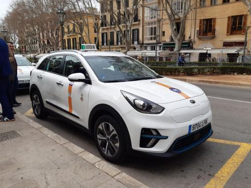 Taxifahrer in Palma sollen sich selbst vor einer Ansteckung mit Covid-19 schützen.
