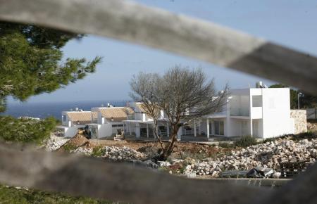Im Bau befindliche Wohnanlage auf Mallorca.