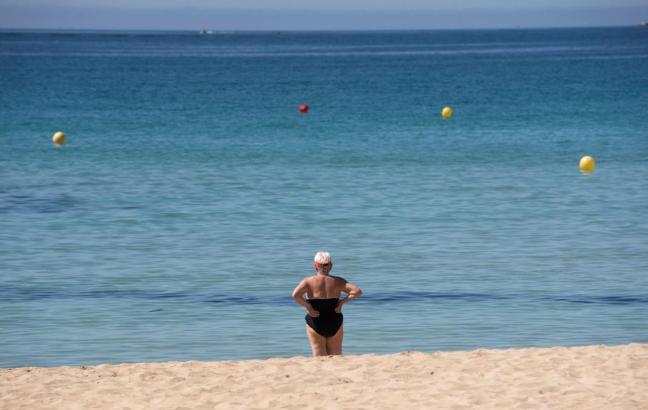 Noch sind die Strände auf Mallorca ziemlich leer.