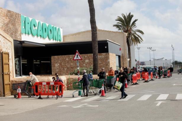 Mercadona-Filiale auf Mallorca.