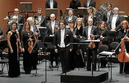 PALMA. MUSICA. La Simfònica inaugura el ciclo ¿Grans Veus¿.