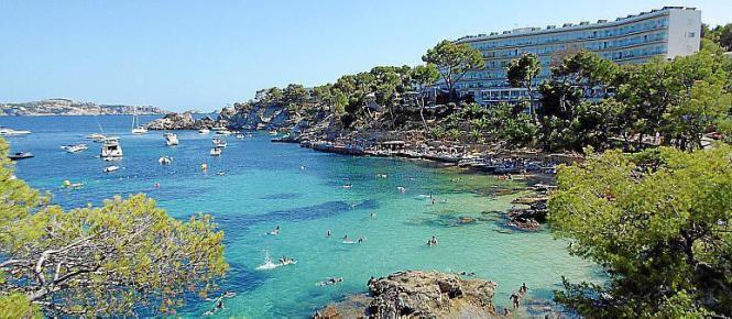 Baden ist aber bereits möglich auf Mallorca.