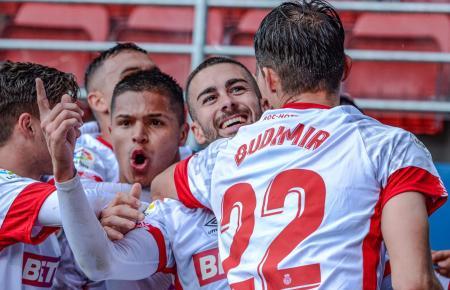 Im letzten Spiel vor der Unterbrechung gewannen die Real-Mallorca-Kicker mit 2:1 beim SD Eibar. Es war der erste Auswärts-Dreier der laufenden Saison.