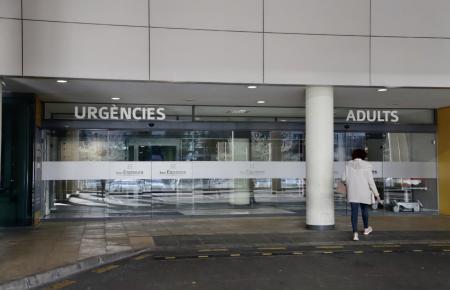 Die Verunglückte wurde ins Krankenhaus Son Espases eingeliefert.