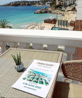 Das Hotel Nixe Palace in Cala Major wurde bereits am Montag eröffnet.