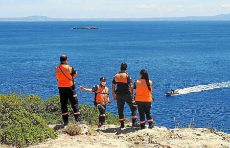 Die Polizei hat am Samstag gege 10.30 Uhr vor der Küste Mallorcas einen Toten geborgen.
