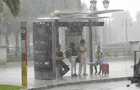 Ab Sonntag wird das Wetter auf Mallorca ungemütlich.
