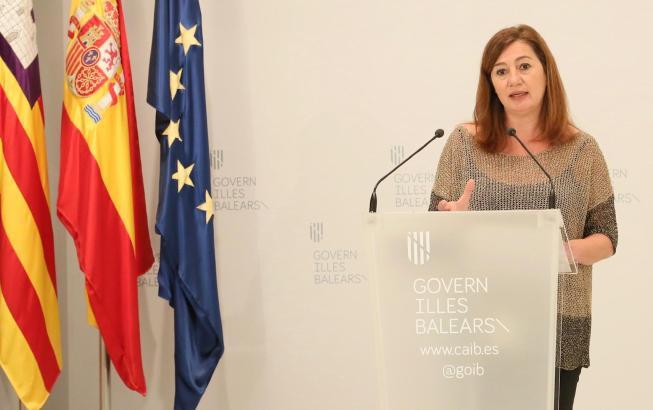 Die balearische Ministerpräsidentin Francina Armengol ist nun dafür, Urlauber, die Krankheitssymptome des Covid-19 zeigten, in Extra-Unterkünften zu isolieren.