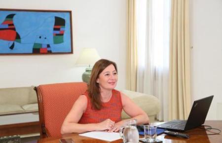 Balearen-Ministerpräsidentin Francina Armengol zeigte sich am Sonntag nach der vorerst letzten Sitzung während des Alarmzustandes zuversichtlich.