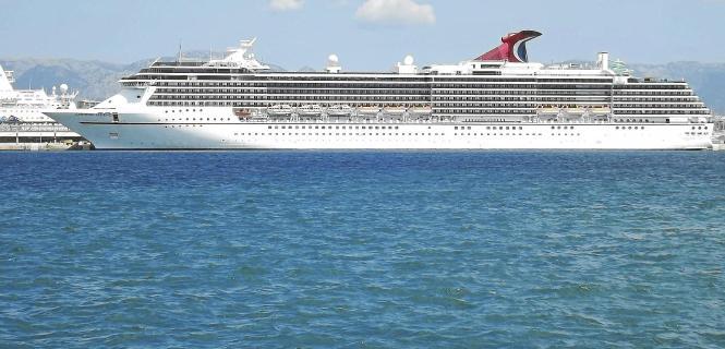 """Zum ersten Mal in diesem Jahr wird im August die amerikanische """"Carnival Legend"""" des Branchenführers erwartet. Kapazität: 2100 Passagiere."""