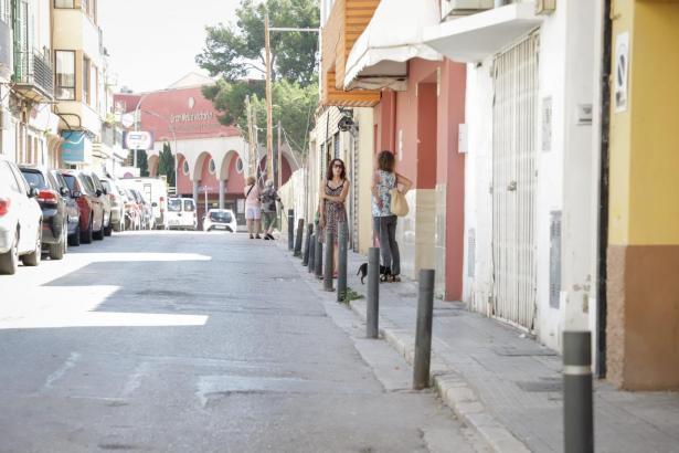 Wenn der Handel weitgehend stillsteht, sind die Straßen leer.