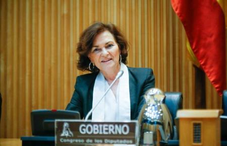 Vize-Regierungschefin Carmen Calvo.