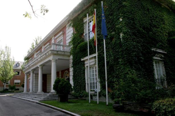 Der Moncloa-Palast in Madrid, Sitz der Regierung.