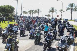 3000 Biker bei Treffen auf Mallorca