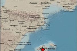 Erdstoß in der Mitte von Mallorca registriert