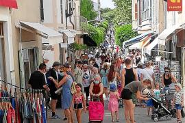 Chaotische Zustände auf Wochenmarkt auf Mallorca