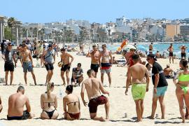 Es ist wieder was los im Badeparadies der Deutschen auf Mallorca