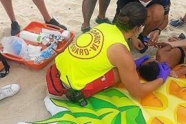 Kind ertrinkt fast an Strand auf Mallorca