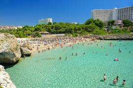 Traumstrand im Osten von Mallorca kurz vor Wiedereröffnung