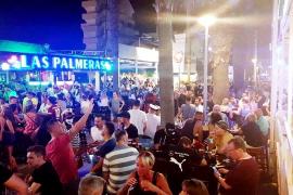 Mallorca-Regierung schließt alle Lokale in Bier- und Schinkenstraße
