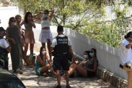 Polizei muss Illetes-Strand auf Mallorca erneut sperren