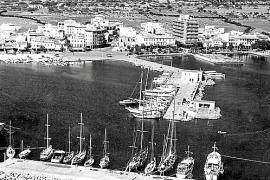 So sah der Hafen in den 60er Jahren aus.
