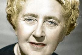 Die britische Krimi-Queen Agatha Christie.