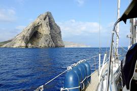 Mit dem Meer vor Mallorca auf du und du