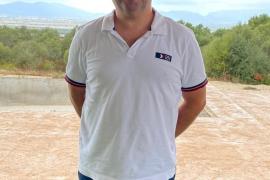 """Juan Miguel Salas, der Wirt des """"Las Palmeras""""."""