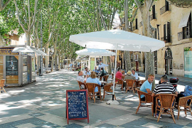 Palma de Mallorca lehnt fast 200 Terrassenerweiterungen ab