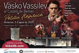 Virtuoser Geiger Vassilev spielt wieder im Bellver-Schloss in Palma