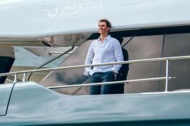 Rafael Nadal hat an Bord alles im Blick.
