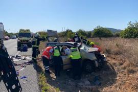 Eine Tote nach Frontal-Zusammenstoß zweier Autos auf Mallorca