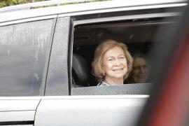 Altkönigin Sofía zum Sommerurlaub auf Mallorca eingetroffen