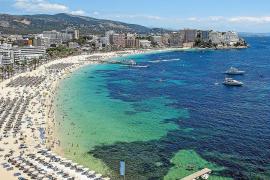 Strandtipp: Das nun gar nicht so volle Magaluf, Hotspot der Briten