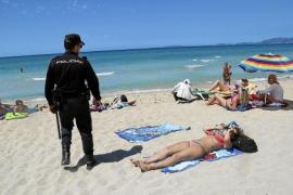 Dealer mit Kokain in Socken an Playa de Palma festgenommen