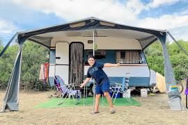 Die Cala Agulla, der beliebteste Strand von Cala Rajada, ist trotz Coronakrise in diesen Tagen sehr gut besucht.