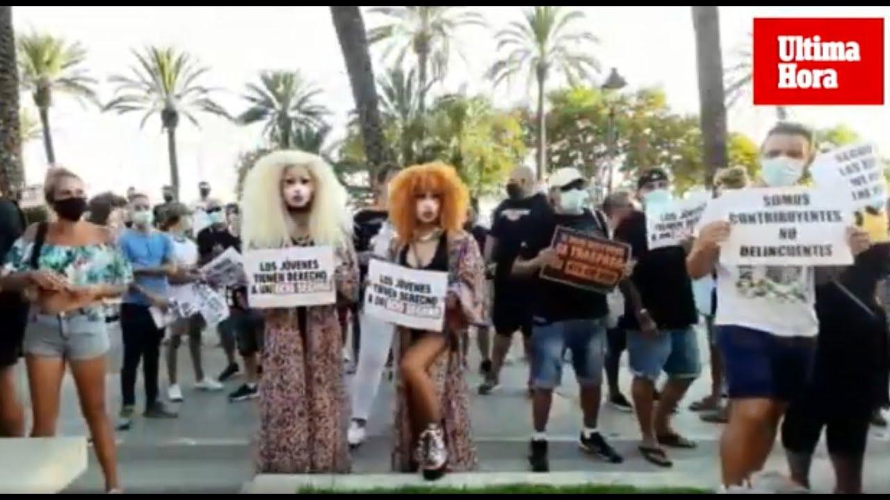 Bar- und Discobesitzer demonstrieren erneut auf Mallorca