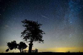 Sternschnuppen-Regen über Mallorca klarer als in anderen Jahren