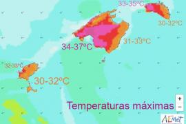 Neue Hitzewelle hat Mallorca mit Macht erreicht