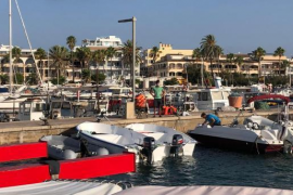 Neuer Anlegesteg für den Hafen von Colònia de Sant Jordi