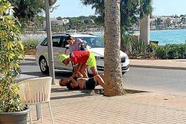 Urlauber überwältigen Dieb an der Playa de Palma