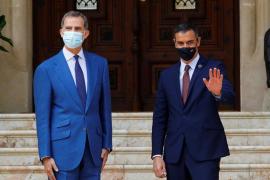 Sánchez trifft sich mit König Felipe VI. auf Mallorca