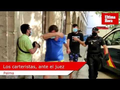 Taschendieb-Ring auf Mallorca: Einige Festgenommene in U-Haft geschickt