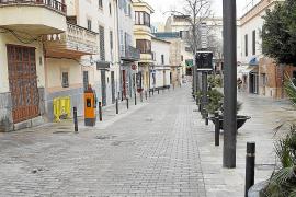 Kameras überwachen verkehrsberuhigte Zone in Son Servera