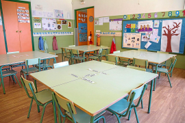 Die Klassenzimmer werden umgestaltet.