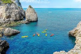 Mallorcas Küste im Kajak erpaddeln