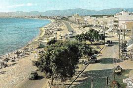 Schon in der touristischen Steinzeit war die Playa de Palma belebt.